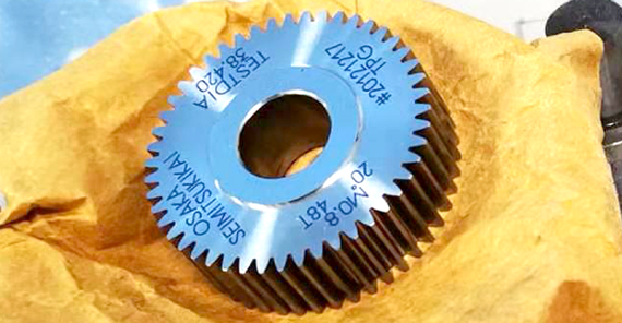 HELICAL GEAR MOLD CAVITIES